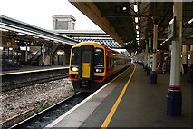 SX9193 : Exeter: Exeter St David's Station by Martin Bodman