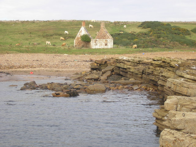 The ruined cottage at the Pans