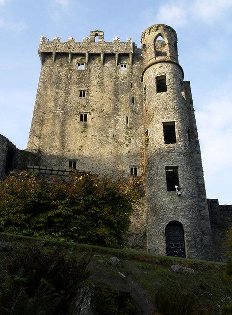 Blarney Castle's East Wall