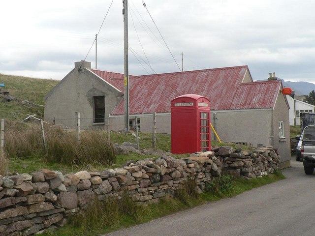 Achiltibuie: the post office
