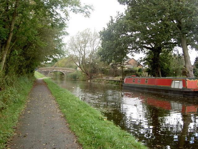 Bridge no. 14 on the Lancaster Canal