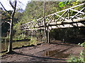 NT2570 : Footbridge over the Braid Burn by M J Richardson