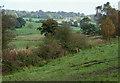 SJ9453 : Farmland and Disused Railway near Denford, Staffordshire by Roger  Kidd