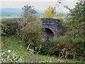 SJ9453 : Former Railway Bridge, near Denford, Staffordshire by Roger  Kidd