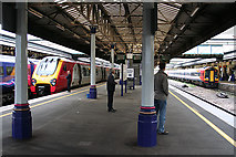SX9193 : Exeter: on Exeter St David's station by Martin Bodman