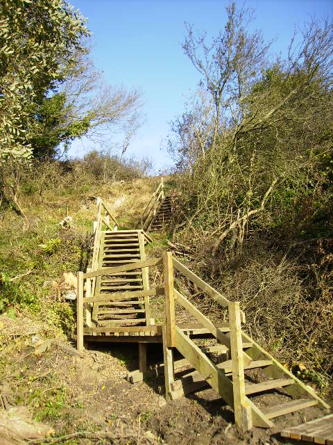 Staircase on The Cleveland Way