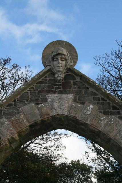 Entrance to Northfield House, St Abbs