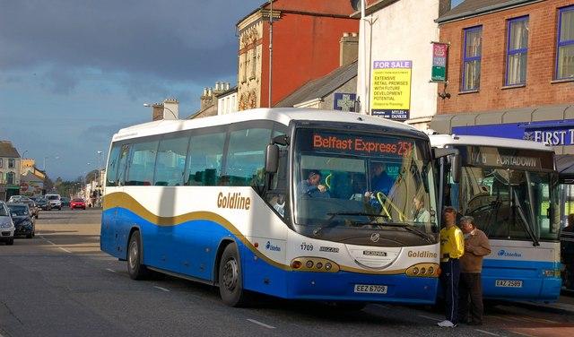 Express bus, Lurgan