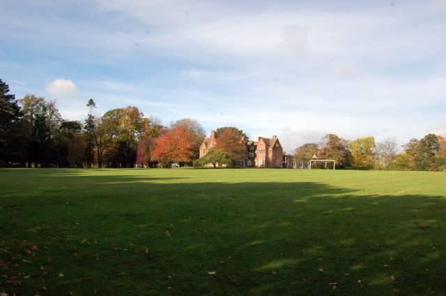 Hurworth Grange and playing field