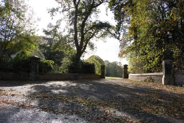 Neasham Hall Gatehouse and driveway