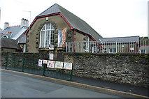 SH5637 : Ysgol Gynradd Borth y Gest Primary School by Alan Fryer