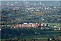 ST6569 : 2007 : View of Somerdale Chocolate Factory by Maurice Pullin