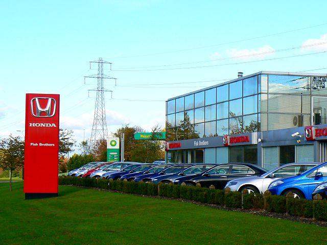 Honda dealership. West Swindon