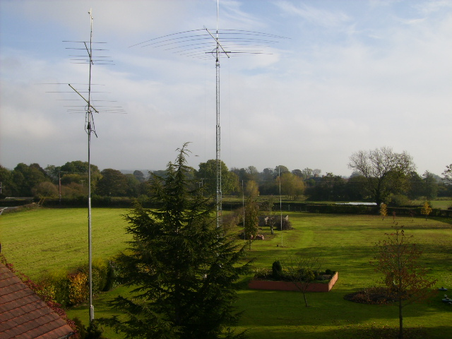 Radio Aerials and Masts near Pickering