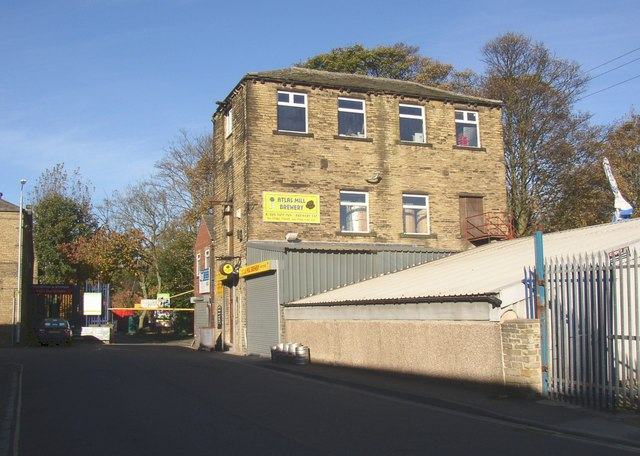 The Atlas Mill Brewery, Atlas Mill Road, Brighouse
