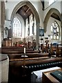 TL1997 : Interior of St John the Baptist, St Michael & All Angels, Stanground by Dave Hitchborne