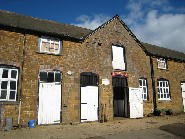 Hook Norton brewery stables