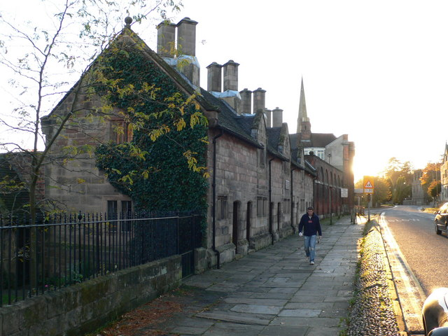 Owfield Almshouses, Ashbourne