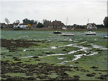 SU8003 : Bosham harbour at low tide by Kay Atherton