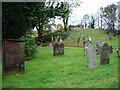 NY0330 : Parish Church of St Peter, Camerton, Graveyard by Alexander P Kapp