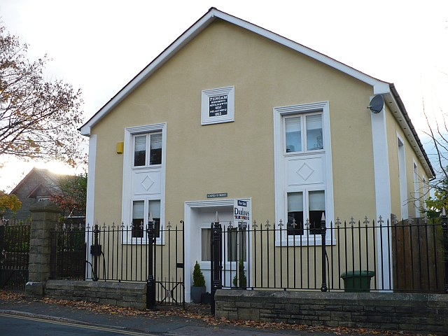 Former Baptist Chapel, Pengam by Robin Drayton