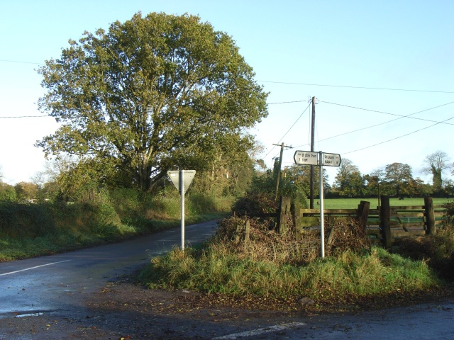 Signpost North of Dunderry, Co. Meath