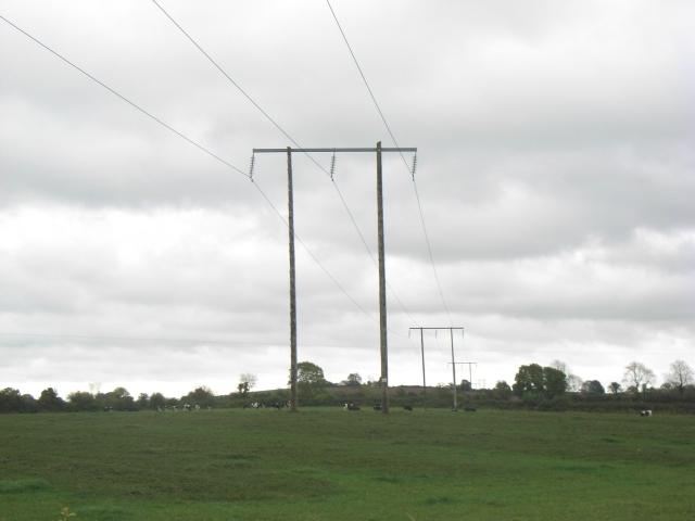 110kV Power Lines at Dollardstown, Co. Meath