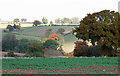 SO6691 : Crop Field and Landscape towards Meadowley,  Shropshire by Roger  Kidd