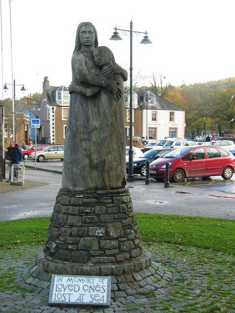 Kirkcudbright Memorial Statue