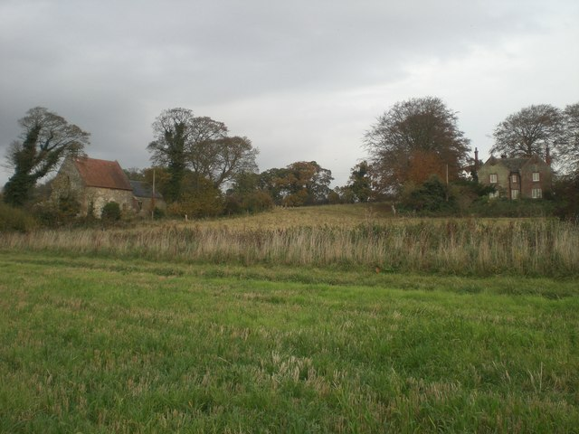 All Saints' Church and The Old Rectory, Waterden