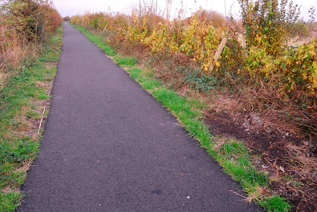 Cycle path, Stanground to Whittlesey