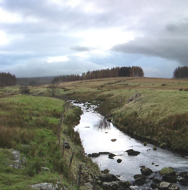 River Lowther flowing out of Sleddale