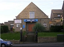 SE1431 : New Life Christian Centre - Great Horton Road by Betty Longbottom