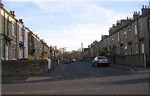 SE1431 : Frank Street - Great Horton Road by Betty Longbottom