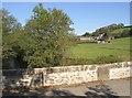 SN1023 : Llwyn-dwfr Bridge and farm, Llandissilio East by Humphrey Bolton