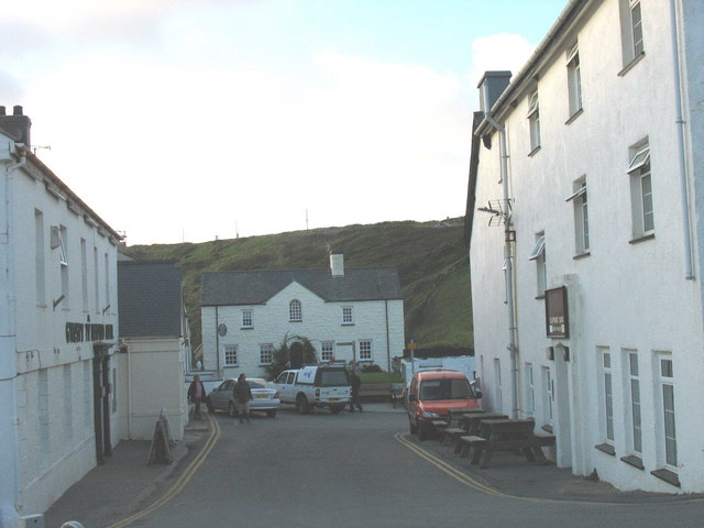 The view from the church gate