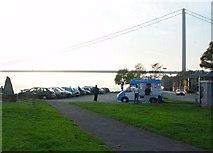 TA0225 : Cliff Road Car Park by Peter Church
