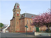 NX4355 : Town Hall & County Buildings, Wigtown by Roger Nunn