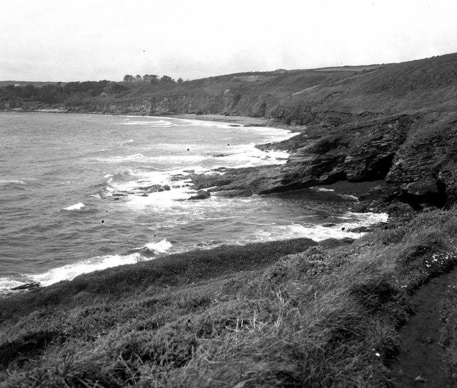 Coastline at Stackhouse Cove, Cornwall