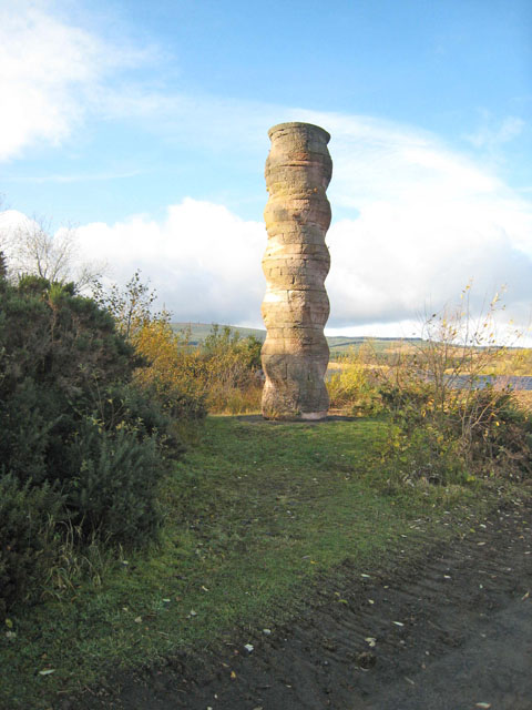 The Kielder Column, Bakethin Weir