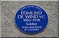 J4669 : De Wind plaque, Comber by Albert Bridge