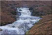 NH1282 : Waterfalls on the Dundonnell River by John Allan