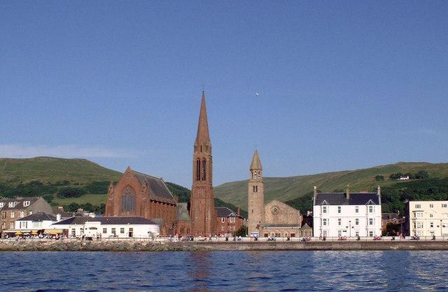 Largs Churches by Eddie Dowds