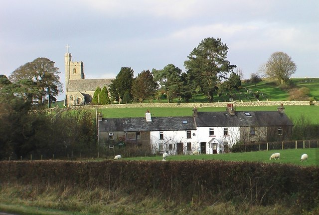 Church and School Houses, Crooklands
