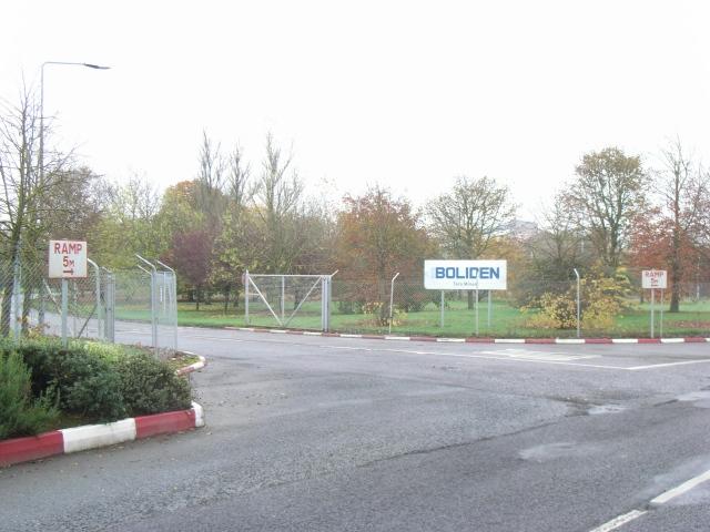 Tara Mines Entrance, Navan, Co. Meath.