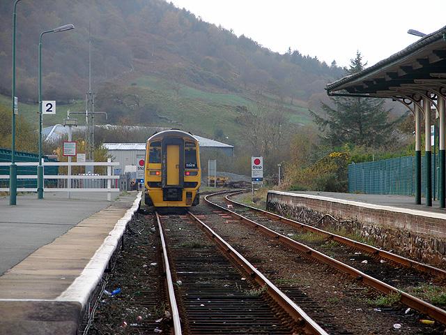 Departing for Pwllheli
