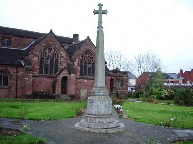 St Thomas Church, Ashton-in-Makerfield, War Memorial