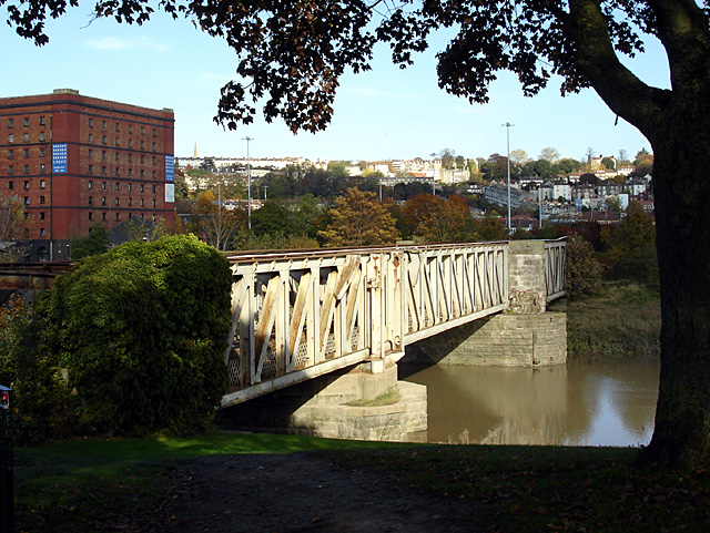 The Railway Bridge across the New Cut
