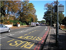 TQ3060 : Brighton Road (A23). Looking north to Purley by Dr Neil Clifton