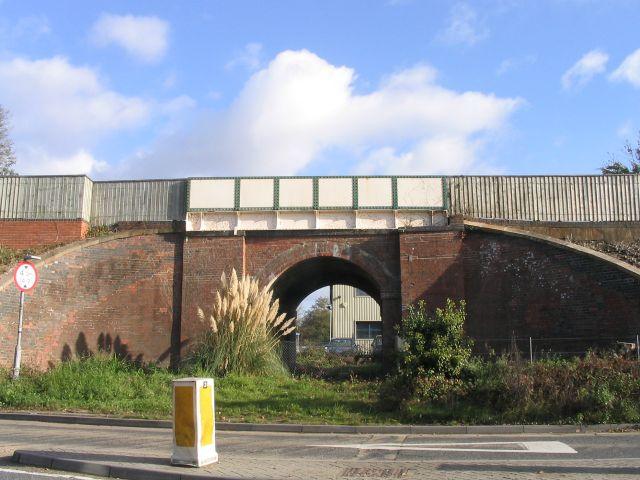 Mini Railway bridge, Romsey